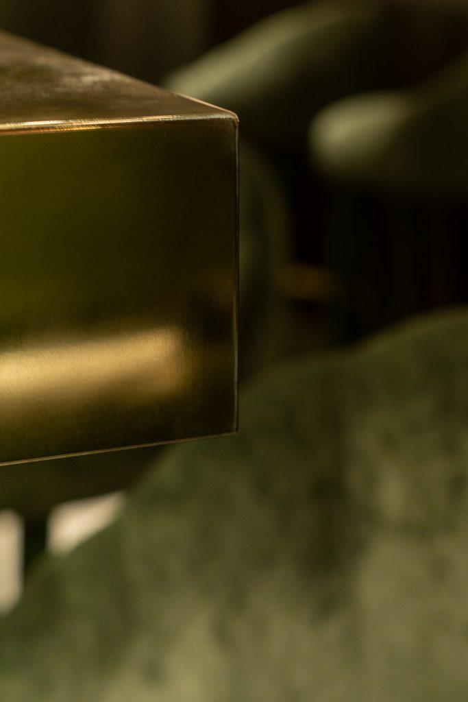 lindholz interior design brass green velvet