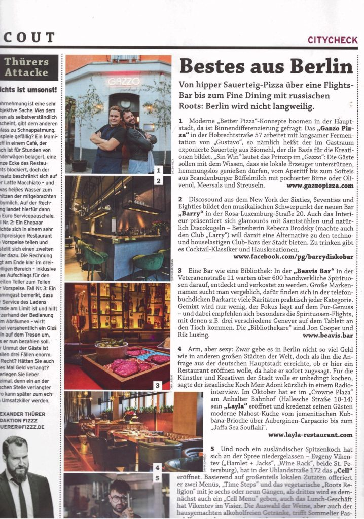 fizzz gastro magazin no2 barry bar berlin
