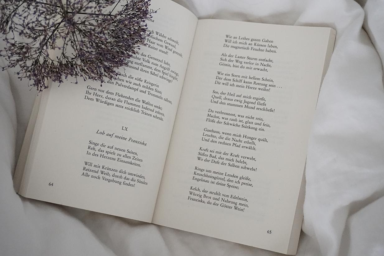 lindholz interior atelier charles baudelaire blumen des bösen poesie
